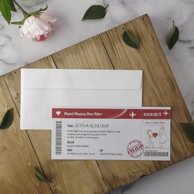 Polen Eko Düğün Davetiyesi 22415