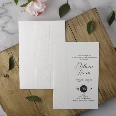 Polen Eko Düğün Davetiyesi 40105