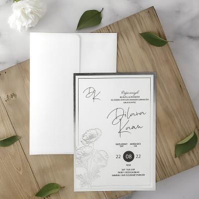 Polen Eko Düğün Davetiyesi 40111