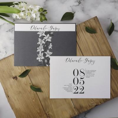 Polen Eko Düğün Davetiyesi 40112