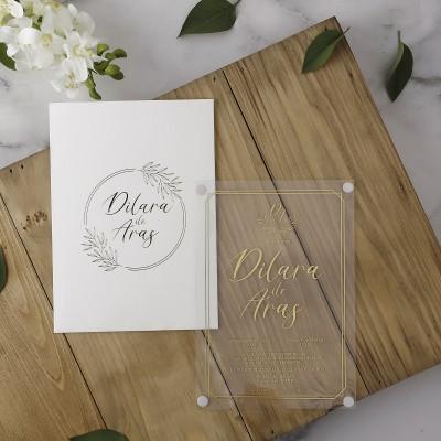 Polen Eko Düğün Davetiyesi 40115