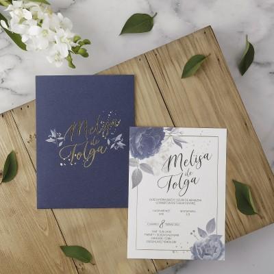 Polen Eko Düğün Davetiyesi 40116