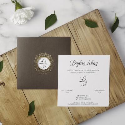 Polen Eko Düğün Davetiyesi 40118