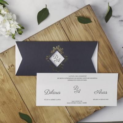 Polen Eko Düğün Davetiyesi 40122