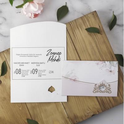 Polen Eko Düğün Davetiyesi 40129