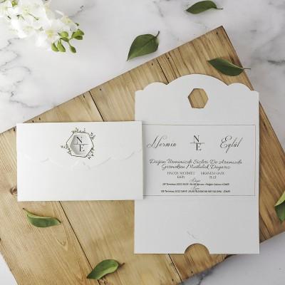 Polen Eko Düğün Davetiyesi 40130