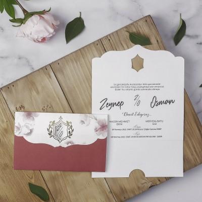 Polen Eko Düğün Davetiyesi 40131