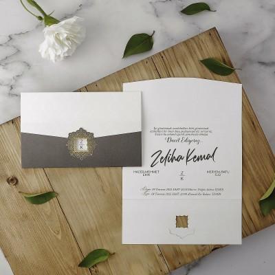 Polen Eko Düğün Davetiyesi 40132