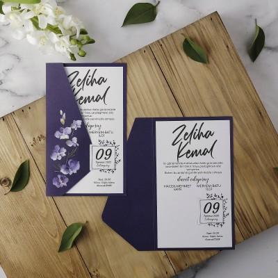 Polen Eko Düğün Davetiyesi 40138