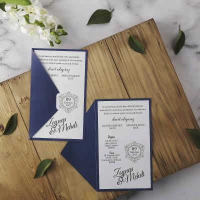 Polen Eko Düğün Davetiyesi 40139