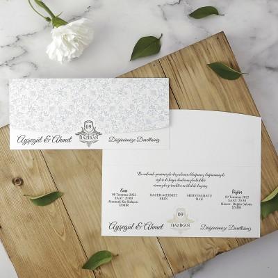 Polen Eko Düğün Davetiyesi 40143