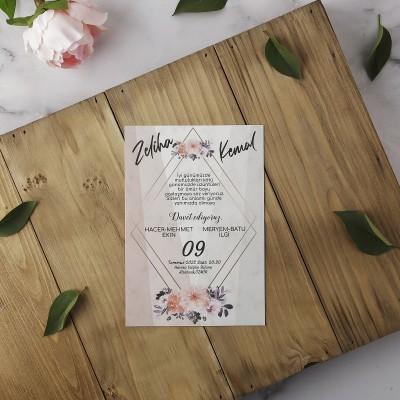 Polen Eko Düğün Davetiyesi 40150