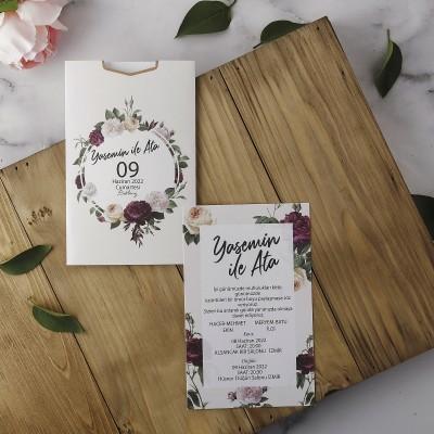 Polen Eko Düğün Davetiyesi 40167