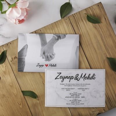 Polen Eko Düğün Davetiyesi 40170