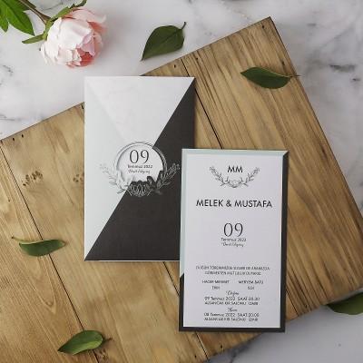 Polen Eko Düğün Davetiyesi 40173
