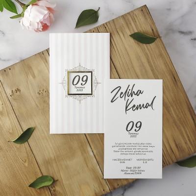 Polen Eko Düğün Davetiyesi 40175