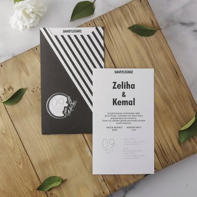 Polen Eko Düğün Davetiyesi 40177