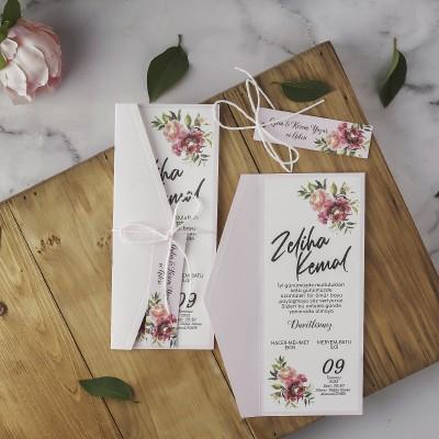 Polen Eko Düğün Davetiyesi 40184