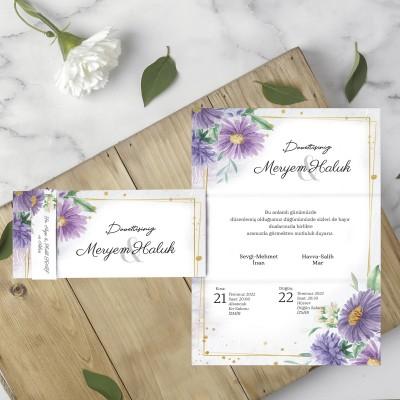 Polen Eko Düğün Davetiyesi 40188