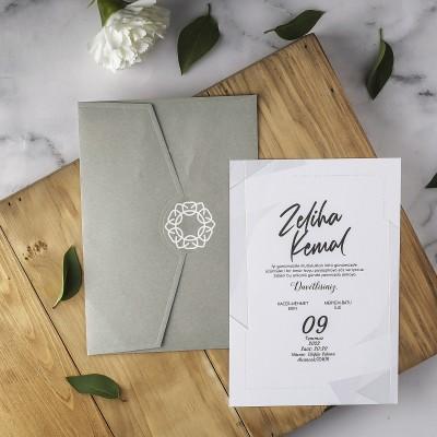 Polen Eko Düğün Davetiyesi 40197