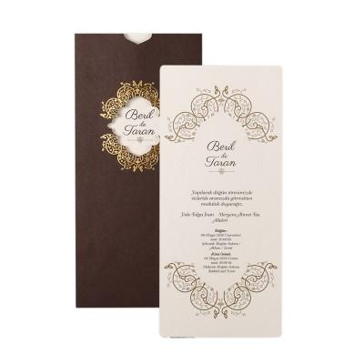 Polen Ekoline Düğün Davetiyesi 22305